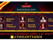 The Stars of Magic Fusion Instagram Live Event