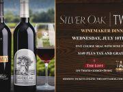The Loft Theatre, Silver Oak Wine Dinner
