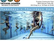 Truckee Donner Recreation & Park District, AquaHIIT at Truckee Community Pool