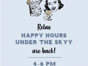 Bar of America, Happy Hours at Bar of America