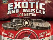 Shops at Heavenly Village, Spring Loaded Exotic and Muscle Car Meetup