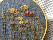 Atelier, Intermediate Embroidery: Botanicals