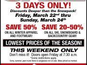 Village Ski Loft, Winter Blowout Sale: 20%-50% Skis, Snowboards, Backcountry Gear & More!