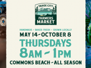 Tahoe City Downtown Association, Tahoe City Farmers Market