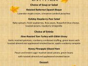 Gar Woods Grill & Pier, Thanksgiving Dinner on the Lake