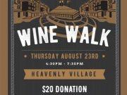 Shops at Heavenly Village, Wine Walk at the Heavenly Village