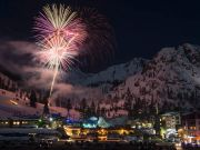 The Village at Squaw Valley, Winter Fireworks