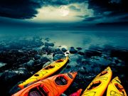 Tahoe City Kayak and Paddleboard, Full Moon Guided Kayak Tour