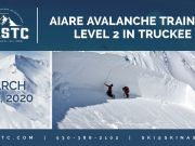 North American Ski Training Center, AIARE Avalanche Training Level 2 in Truckee