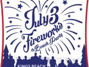 July 3rd Fireworks Show& Beach Party
