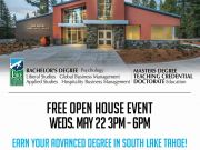 Open House Event Lake Tahoe Community College University Center