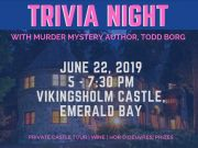 Sierra State Parks Foundation, Trivia Night at the Castle, with Murder Mystery Author Todd Borg
