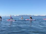 Well Being Tahoe, SUP Yoga