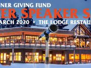 The Lodge Restaurant & Pub, Speaker Series | The Physics of Snow