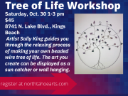 North Tahoe Arts, Tree of Life Workshop