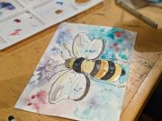 Atelier, Visual Poetry in Watercolor