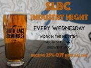 South Lake Brewing Company, Industry Night