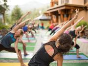 The Village at Squaw Valley, First Street Yoga Series