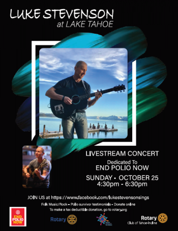 Rotary Club of Tahoe-Incline, End Polio Now Benefit Concert!