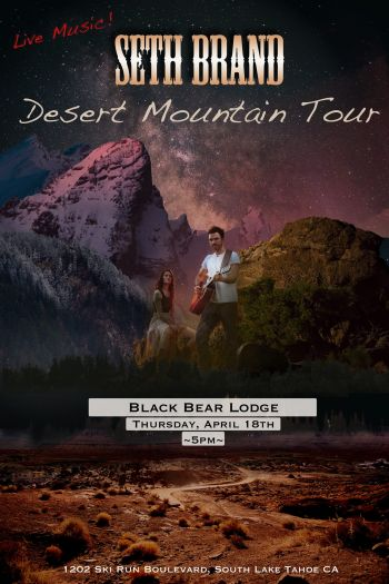 Black Bear Lodge, Seth Brand at The Black Bear Lodge