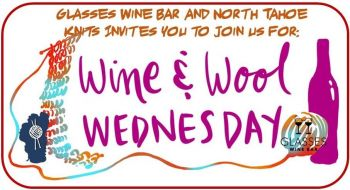 Glasses Wine Bar, Wine and Wool Wednesdays!