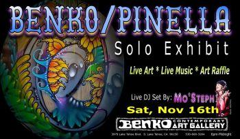 Benko Art Gallery, November Art Show Opening - John Benko & Willie Pinella
