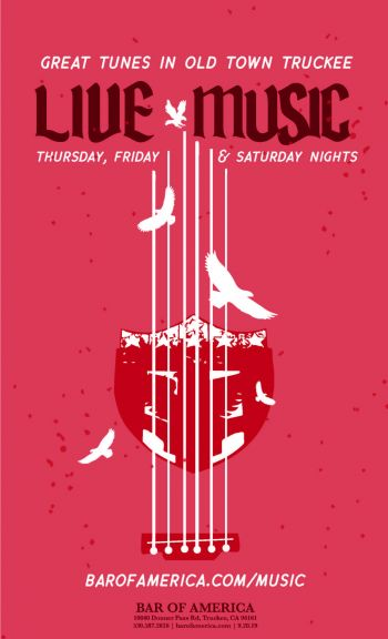 Bar of America, Live Music Every Thursday, Friday & Saturday at Bar of America