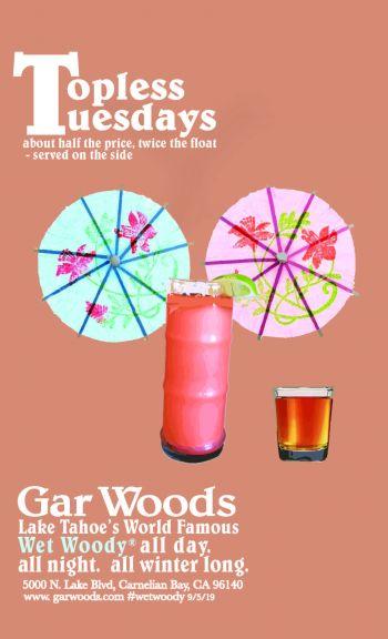 Gar Woods Grill & Pier, Topless Tuesdays at Gar Woods