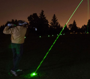 Tahoe Donner Golf Course, Glow Golf Family Night