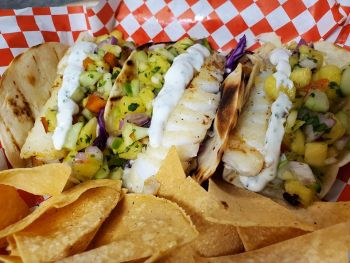 Boathouse on the Pier, Tres Fish Tacos