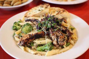 Village Bar & Grill, Blackened Chicken Penne