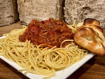 Jiffy's Pizza & Homemade Ice Cream, Spaghetti