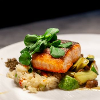 Moody's Bistro, Bar & Beats, Ernie's Line Caught Wild King Salmon