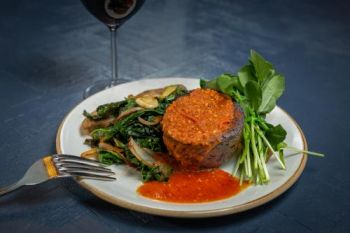 Cottonwood Restaurant, Vegan Meat Loaf