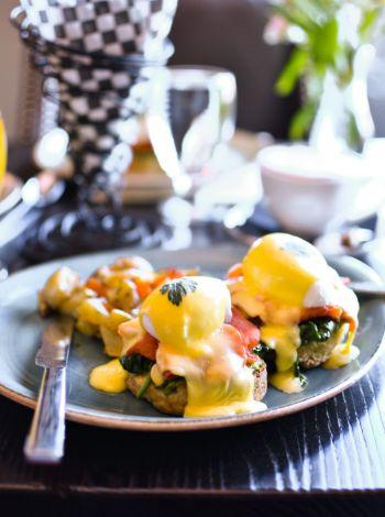 Jimmy's Restaurant, Eggs Benedict