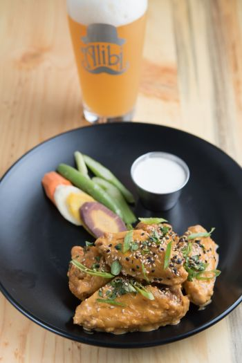Alibi Ale Works, Chicken Wings