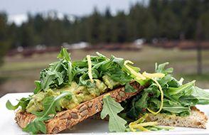 Alder Creek Cafe & Trailside Bar, Avocado Toast