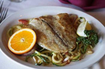 Tep's Villa Roma Italian Restaurant, Barramundi Special
