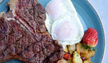 Brook's Bar & Deck, Steak & Eggs  (DF)