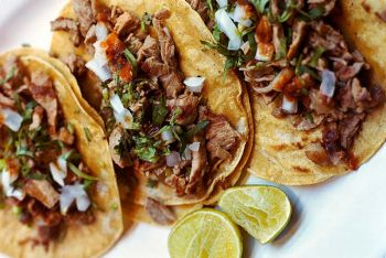 The Blue Agave, Carnitas Tacos