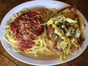 Grand Central Pizza & Pasta, Chicken Picatta