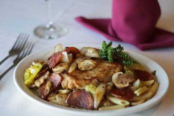Tep's Villa Roma Italian Restaurant, Chicken Giambotta