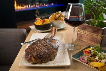"Bistro at Edgewood, Creekstone Farms ""Cowboy Cut"" Tomahawk Steak"