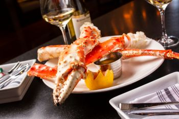 Park Prime Steakhouse, 1 1/2 Lbs. Colossal Alaskan Red King Crab Legs