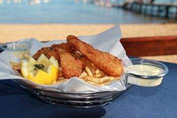 "Camp Richardson Resort, ""Almost Famous"" Fish & Chips"