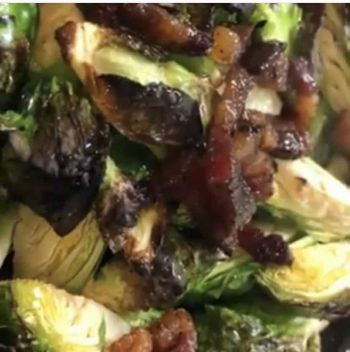Whitecaps Pizza & Tap House, Roasted Brussels Sprouts (gf)