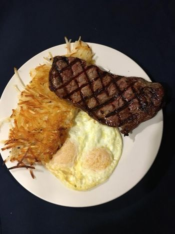Rosie's Cafe Tahoe City, New York Steak and Eggs