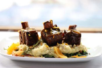 River Ranch Lodge & Restaurant, Durham Ranch Bison Short Ribs