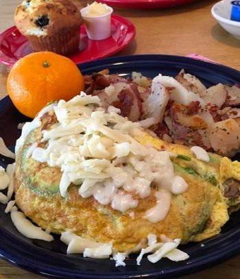 Welcome to Bear Beach Cafe, South Lake Tahoe, Lake View Omelette