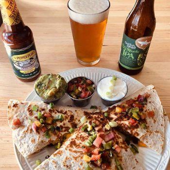 Crosby's Tavern, Chicken Quesadilla